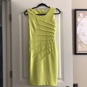 Calvin Klein green dress